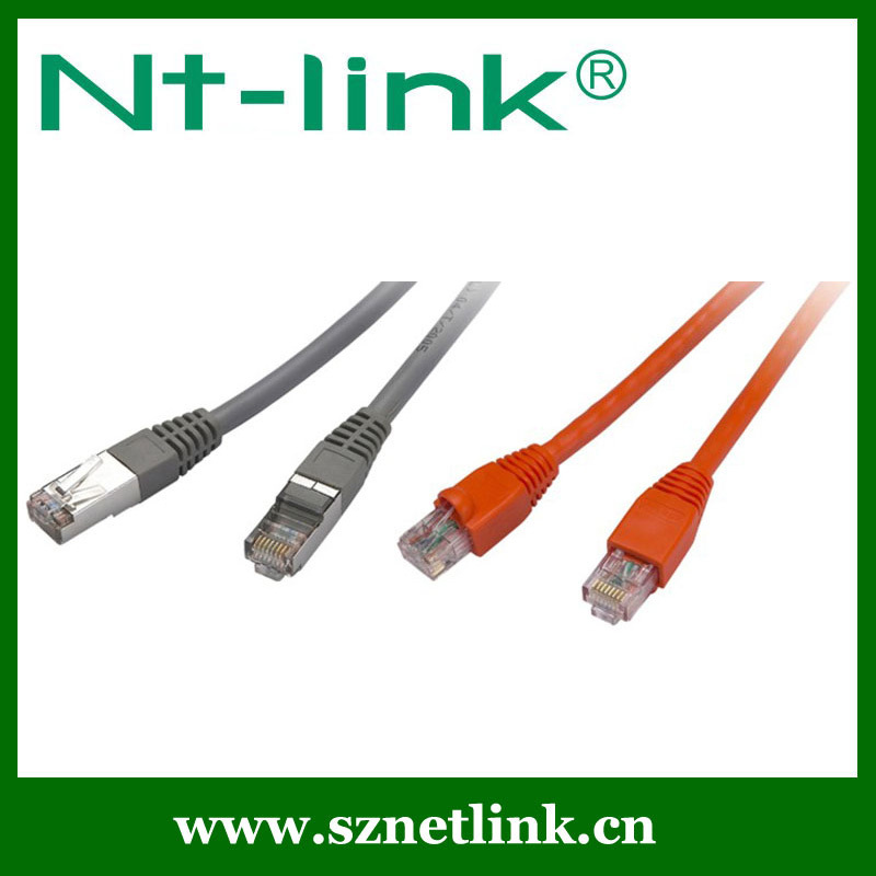Top quality promotion rj45 telephone patch cord cat6 NT-PC002