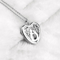 Aroma Perfume Stainless Steel Locket Essential Oil Jewelry Aromatherapy Pendant Diffuser Necklace