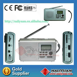 Hot sales FM/MW/SW(1-6) 8 Band multifunction Radio for promotion