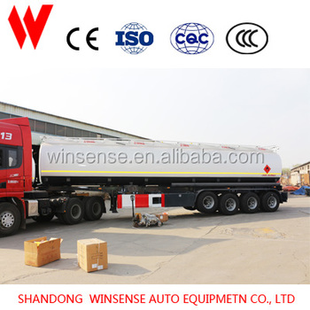 Made in China Hot Sale Aluminum Alloy Material Fuel Truck And Trailers for sale