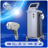 Painless permanent 808nm diode laser hair removal brown machine