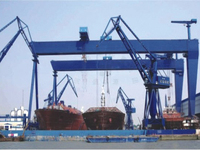 Shipbuilding gantry crane(box type) widely used for construction