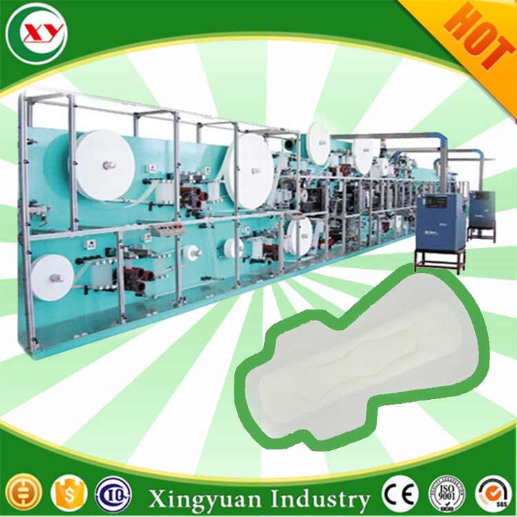 Sanitary Napkin Making Machine, Sanitary Napkin Making