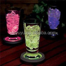 New Color Changing Light Up Base Drink LED Glass Bottle Coaster For Party Bar