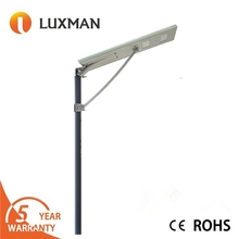 Outdoor High quality Newest design gray or sliver 30w solar street light china