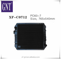 China supplier PC60-7 radiator used excavator diesel engines