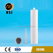 300ml empty hdpe silicone sealant cartridge