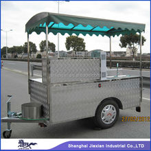 JX-HS200D vending Customized Mobile hot dog tricycle