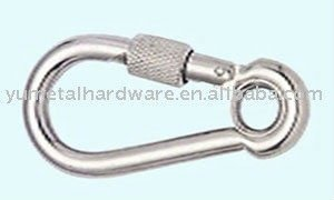 Snap Hook with Eyelet and Screw