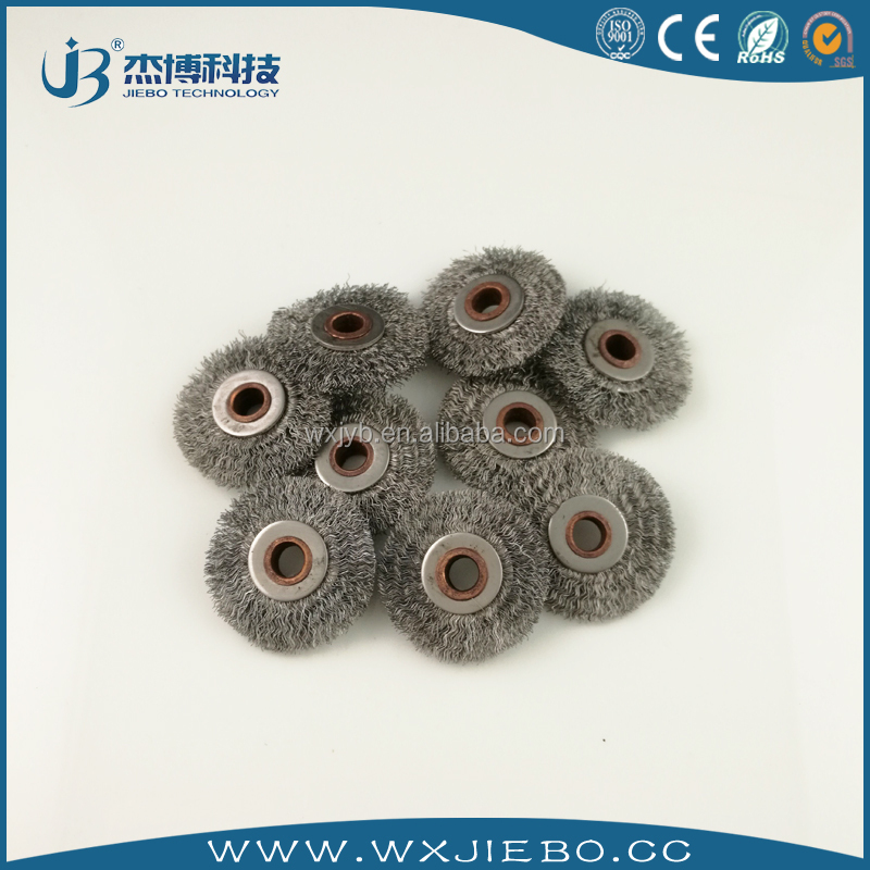 stainless steel wire round brush /Rust removal round brush for Carbon sulfur analyzer