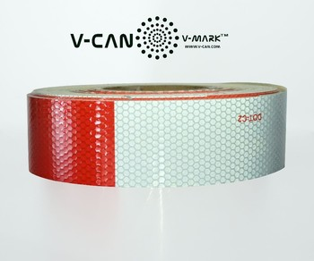 dot-c2 vehicle conspicuity tape, reflective tape, reflective sticker, HI-INT-180018