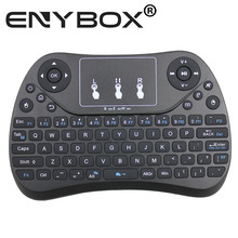 Mini Wireless Keyboard RF 2.4G Mouse Touchpad Design Handheld Keyboard for Multimedia Gaming PC Android TV box