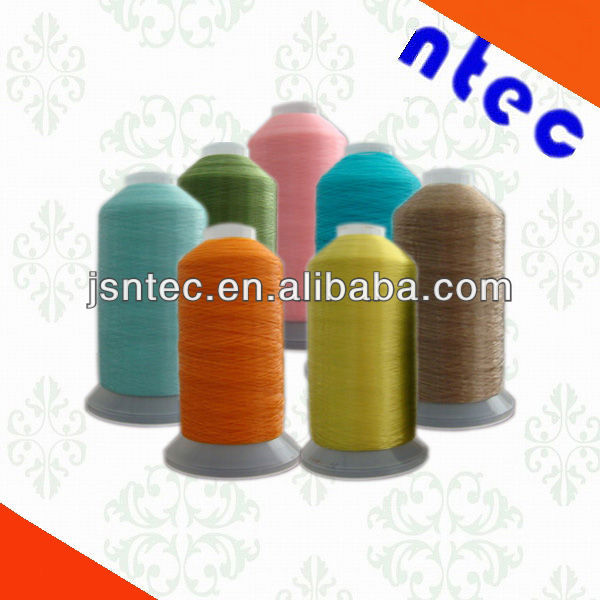 Nylon thread for sewing leather