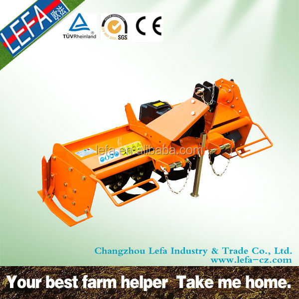 Tractor Use rotary tiller hoe CE Approved