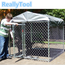 New design Dog Kennel Outdoor Run Cage& House high quality large dog Crate for sale cheap