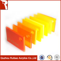 rpoa factory direct sale scratch resistant pmma acrylic sheet