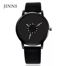 Promotional handmade black luxury ladies wood watch gift