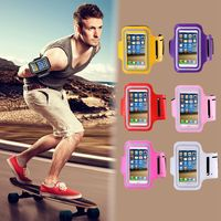 Workout Cover Gym Case for Samsung Galaxy Note 5 4 3 2 N920 N7100 N9000 N910 Running Sport Arm Band Waterproof Note3 Note4 Note5