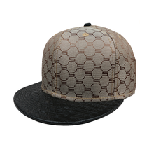 Welcome Customize Plain Hats Buy Wholesale Leather Strap Grey Snapback Blank Hat Online