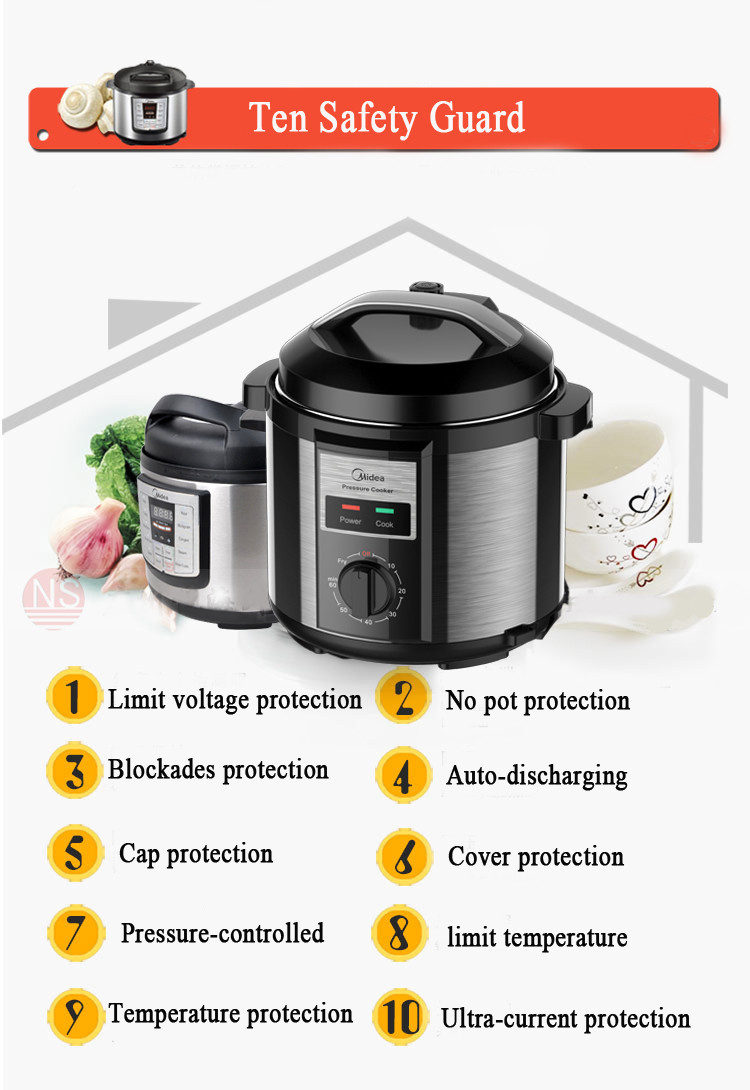 New Used Multipurpose Pressure Cooker for Kitchen Equipment