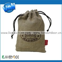 Cocoa Beans Jute Bags, Hessian Pouch for Coffee Beans