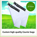 pvc zipper bag, plastic cloth packing pouch