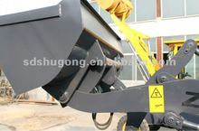 wheel loader attachements 4 in 1 bucket