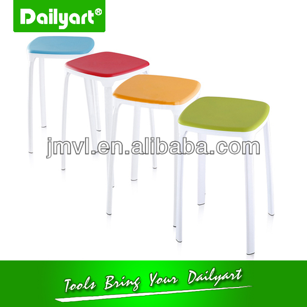 (V052007) Colourful kitchen living room woven bar stool