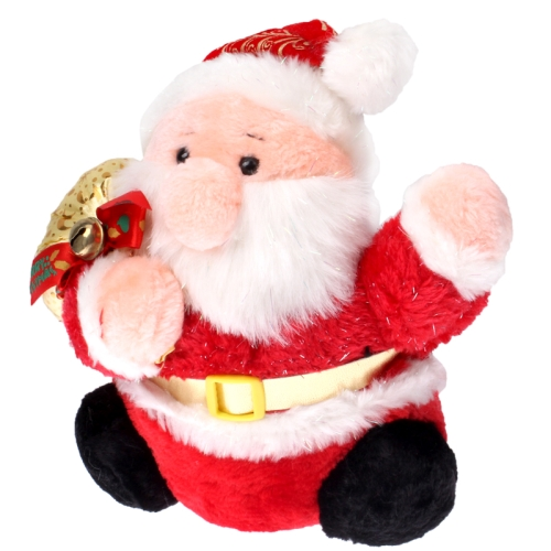 Lovely Electric Santa Claus Plush Toy