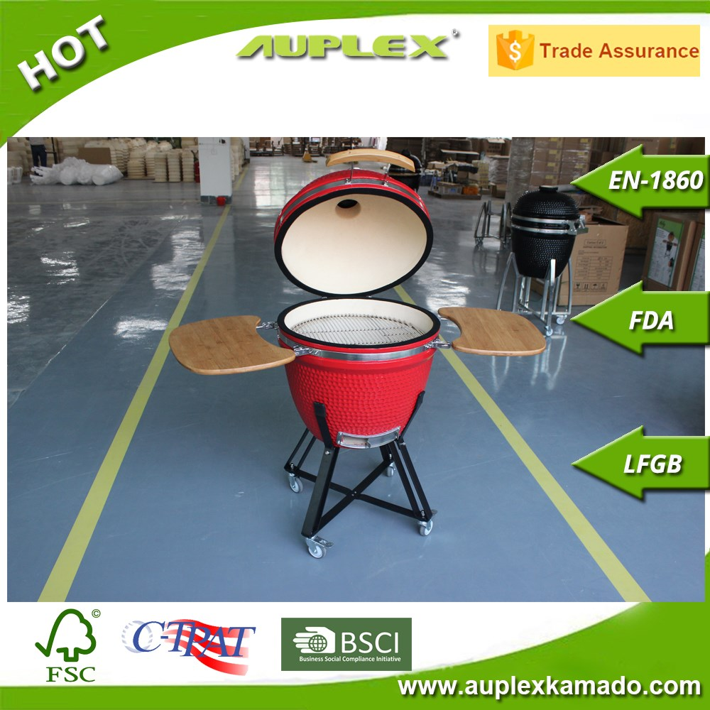 AUPLEX KAMADO egg shape, tight sealed container, make great heat circulation