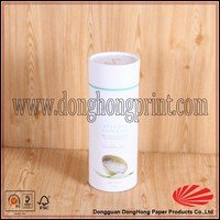 White round tube design paper perfume packaging box DH2370#