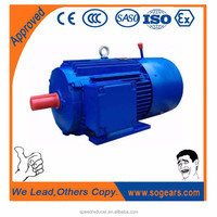 Premium efficiency aluminum steel fan cover electric motor 75kw for sale