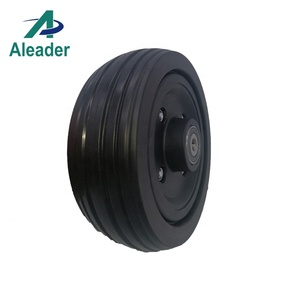6 Inch Wheels Caster Wheel For Power Wheelchairs Solid Tyre 6x2