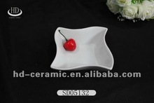direct sales white porcelain sauce cold dishes