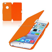 Ultra Thin Magnetic Button Flip Case for iphone 6 4.7/ Plus 5.5