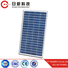 Best price per watt 40W Polycrystalline Silicon Solar Panel