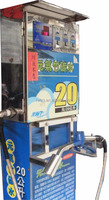 Reverse osmosis drinking water vending machine with price