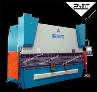 high quality cnc hydraulic press machine/hydraulic press brake/cnc hydraulic bender with CE and ISO9001 certification