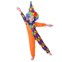 Halloween costume manufactures China funny Kids clown costume