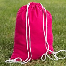 Custom High Quality Promotional Cotton Drawstring Bag