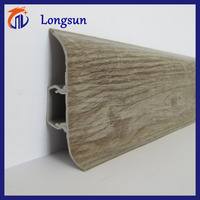 Cheap price rigid pvc skirting board for floor decoration