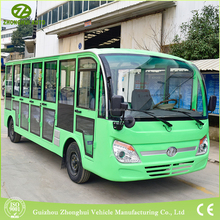 New colour 23 seater coaster mini sightseeing bus