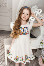 picture of children Sleeveless casual dress design with high Quality