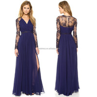 2015 Women Formal Lace Long Dress Prom Evening Party Cocktail Bridesmaid Wedding