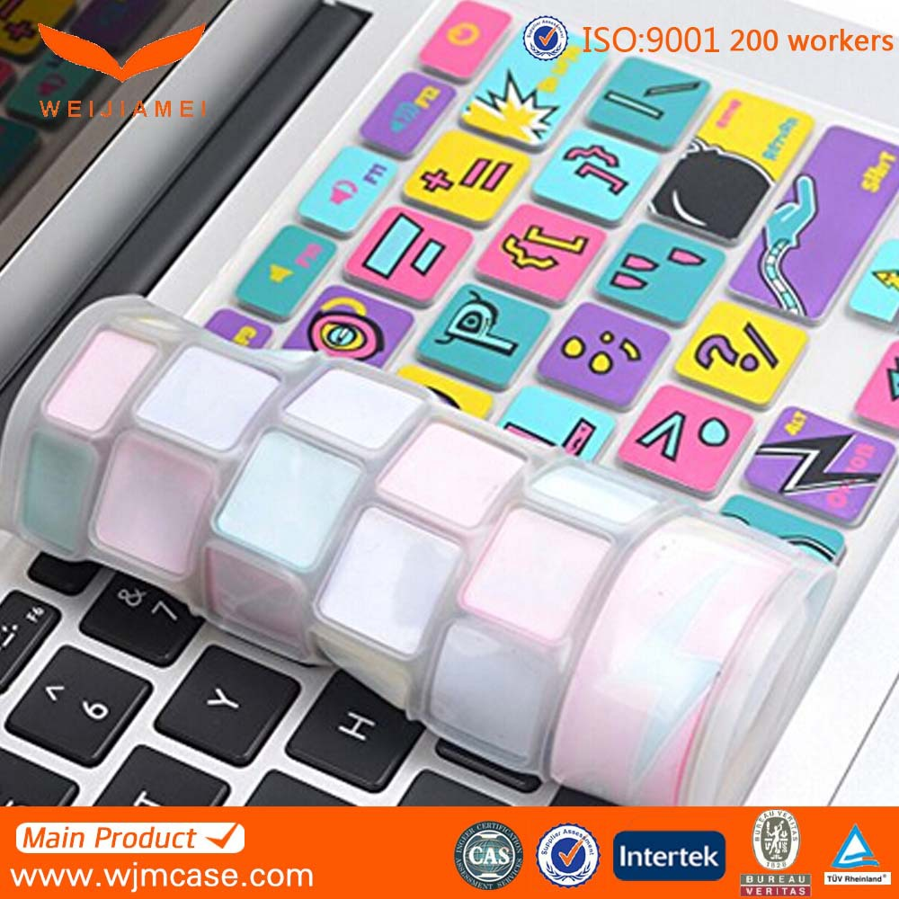 custom printing for dell laptop keyboard silicon skin cover