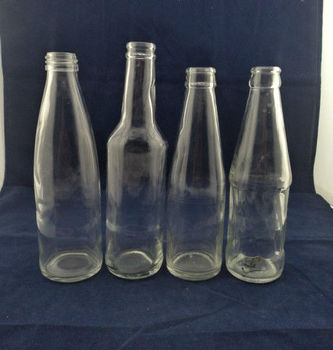 carbonated drinking glass bottles, soda bottles