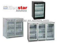 bottle cooler/chiller undercounter beer back bar cooler