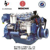 Weichai water cooled engine boat for ship