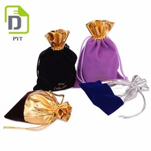 Velvet Pouch Gift Bags With Drawstring Jewellery