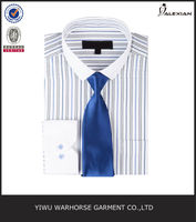 cut away collar striped cotton dress shirts and ties
